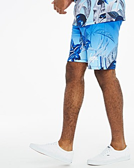 Hype Floral Fade Shorts