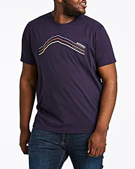 Snowdonia Silhouette T-Shirt Long