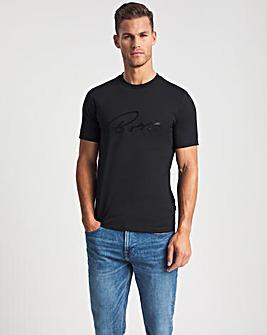 BOSS Black Smart Short Sleeve Script T-Shirt