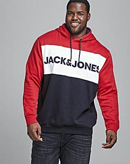 Jack & Jones Tango Red Block Sweatshirt