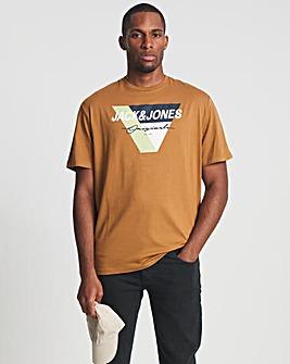 Jack & Jones Rubber Mason Crew Neck T-Shirt