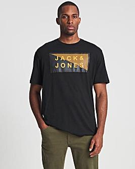 Jack & Jones Black Shawn T-Shirt