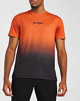 Hype Burnt Orange Fade T-Shirt