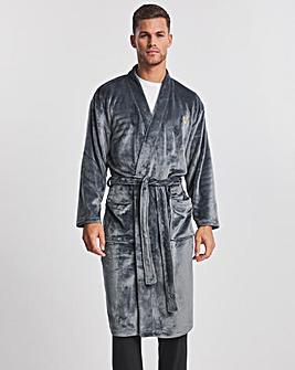 Voi Grey Dressing Gown