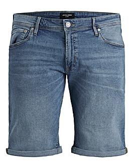 Jack & Jones Light Wash Rick Denim Shorts