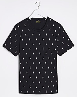 Polo Ralph Lauren All Over Pony Lounge T-Shirt