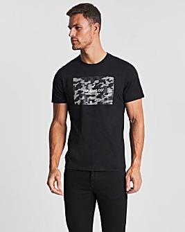 Voi Black Storm Graphic T-Shirt Long