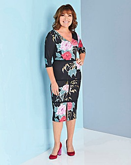Lorraine Kelly Floral Midi Dress