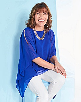Lorraine Kelly Double Layered Top