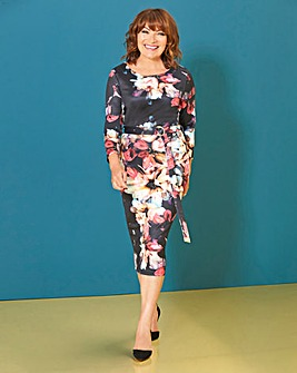 Lorraine Kelly Floral Bodycon Dress