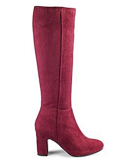 Heavenly Soles Boots EEE Super Curvy