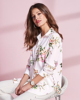 Together Cotton Print Blouse