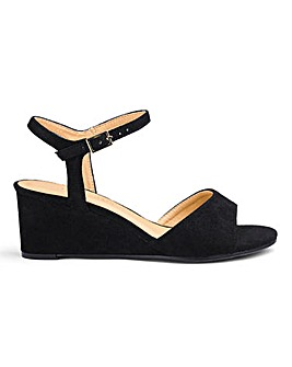 Wedge Slingback Sandals EEE Fit