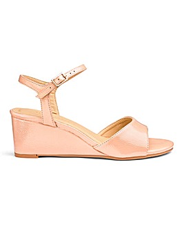 Wedge Slingback Sandals E Fit