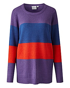 Junarose Claudia Colourblock Pullover