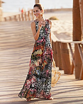 Together Mesh Maxi Dress
