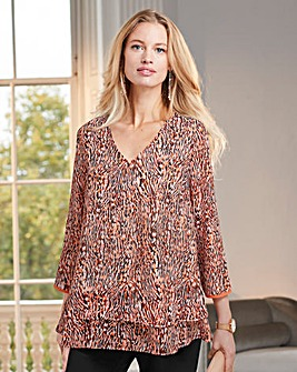Together Double Layered Blouse