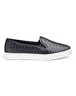 Slip On Leisure Shoes EEE FIt