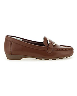 MULTIfit Leather Slip On Loafers Extra Wide EEE/EEEE Fit