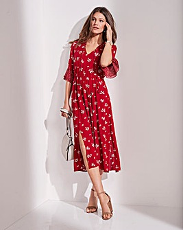 Together Floaty Floral Dress