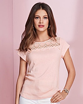 Together Jersey Lace Top