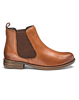 Leather Chelsea Ankle Boots Extra Wide EEE Fit