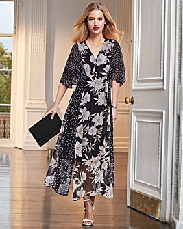 Together Floral Lurex Print Dress