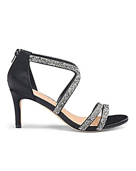 Joanna Hope Encrusted Sandals E Fit