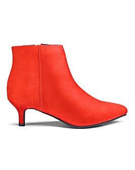 8beaffdd623e Flexi Sole Kitten Heel Boots EEE Fit