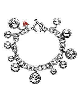 Guess Sphere Chunky T-bar Bracelet