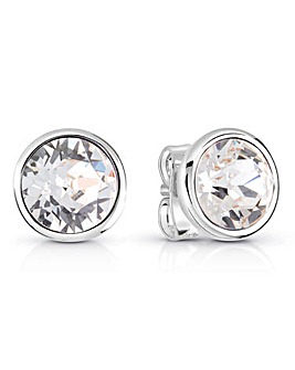 Guess Miami Crystal Stud Earrings