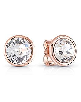 Guess Miami Crystal Stud Earrings
