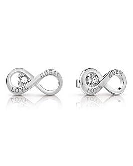 Guess Endless Love Infinity Earrings