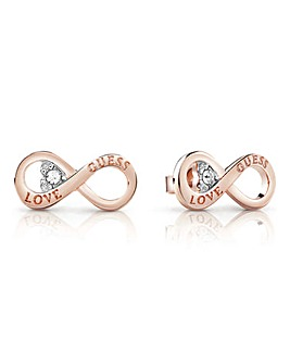 Guess Endless Love Infinity Earrings