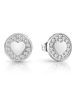 Guess Jamila Stud Heart Earrings
