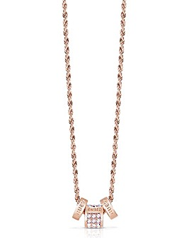 Guess Colours Rondel Necklace - Rose