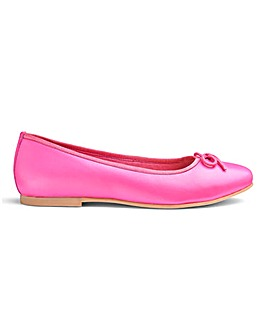 Soft Leather Ballerinas D Fit