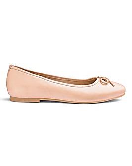 Soft Leather Ballerinas Standard D Fit