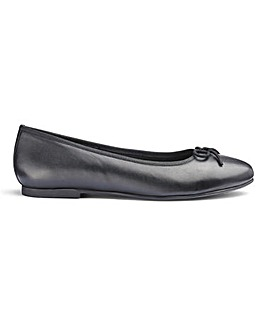 Soft Leather Ballerinas E Fit