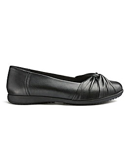 Leather Comfort Ballerinas E Fit