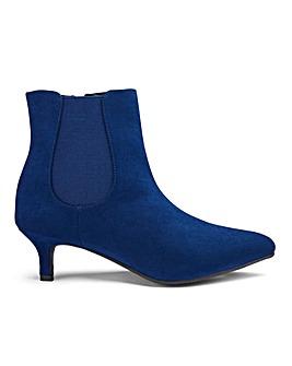 Kitten Heel Chelsea Boots EEE Fit