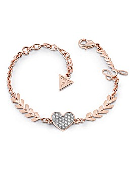 Guess Cupid Bracelet - Rose-tone