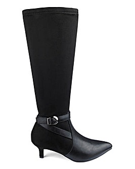 Knee High Boots E Fit Curvy Calf