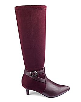 Knee High Boots EEE Fit Curvy Calf