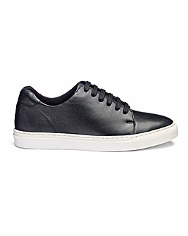 Leather Lace Up Leisure Shoes Wide E Fit