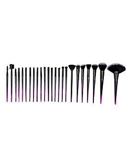 Rio 24 Piece Ombre Make Up Brush Set