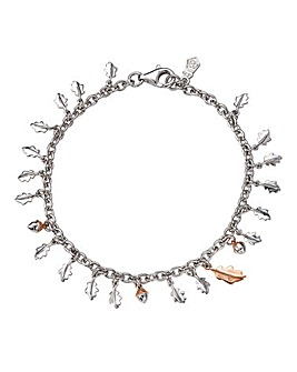 Clogau Royal Oak Silver & Gold Bracelet