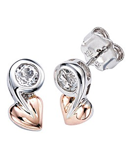 Clogau Tree of Life Topaz Earrings