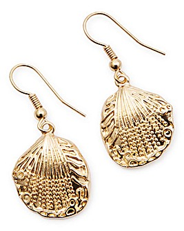 Shell Fishook Earrings