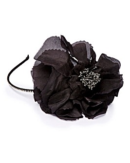 Ribbon And Asher Flower Fascinator